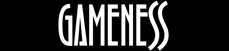 Sample of the Gameness typeface